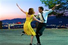 "Emma Stone and Ryan Gosling dance in Griffith Park in ""La La Land."""