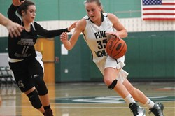 Amanda Kalin has been a driving force for Pine-Richland. The senior is the second-leading scorer in the WPIAL at 23.6 points per game.