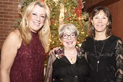 Joyce DeLuca, left, Sharon Rigatti and Diane Leslie.
