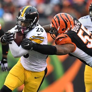 Cincinnati Bengals linebacker stirred the pot early in his team's game against the Steelers Sunday at Heinz Field.