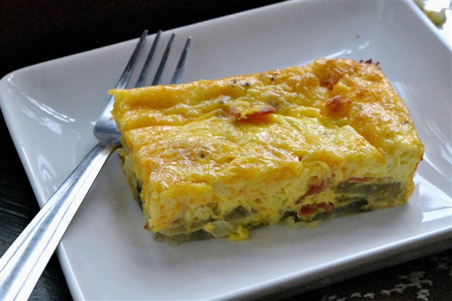 Sweet Potato-Crusted Quiche Lorraine makes a terrific light dinner, a simple brunch or an on-the-go breakfast.