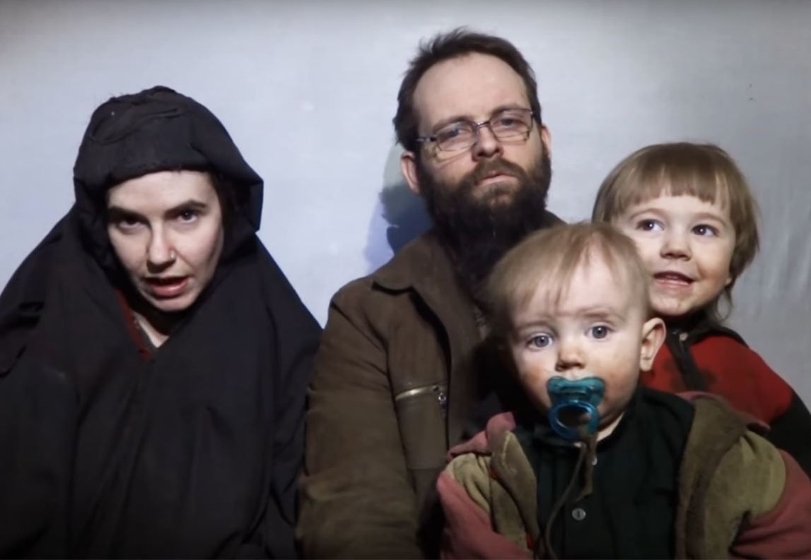 American-Canadian Couple Appears in Taliban Hostage Video
