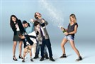 "From left, Sofia Black-D'Elia, Jack Stanton, Carla Jimenez, Thomas Barbusca, Scott MacArthur and Kaitlin Olson star in ""the Mick,"" airing on Fox."