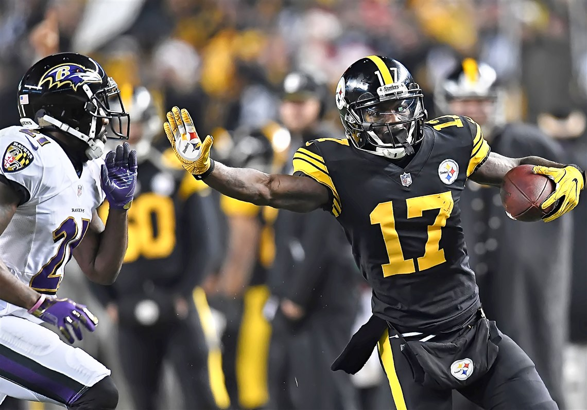 Eli Rogers, Steelers vs Ravens, Steelers Christmas win Ravens