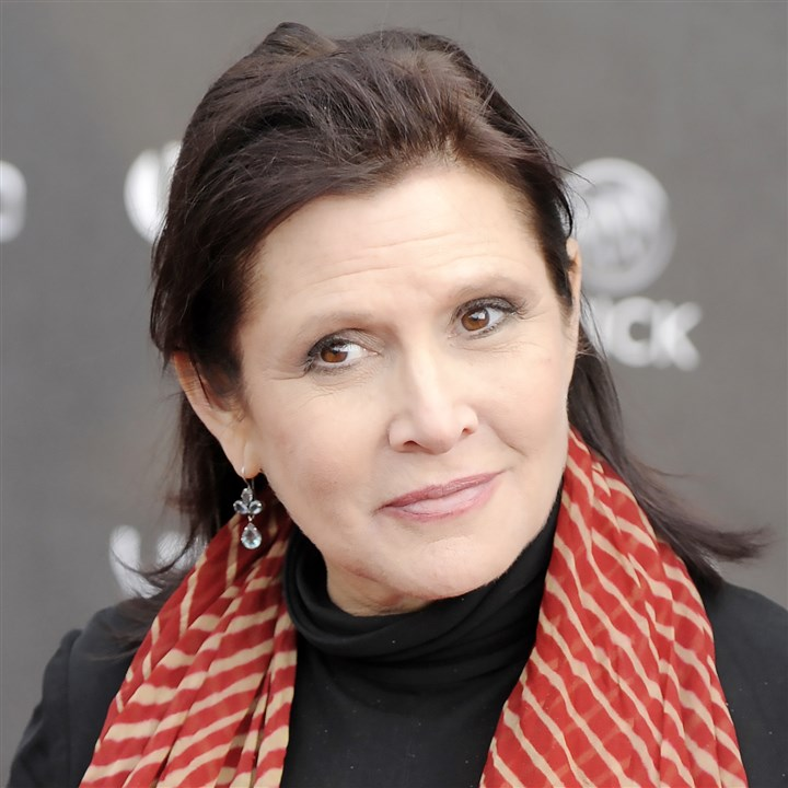 AP_110407117727 Carrie Fisher in 2011.