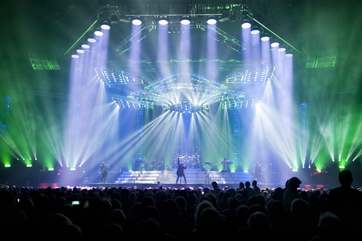 20161227hmnTSO-1 The Trans-Siberian Orchestra performs at the PPG Paints Arena in Uptown on Tuesday.