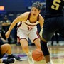Julijana Vojinovic scored 23 points for Duquesne, but the Dukes fell to A-10 rival Dayton.