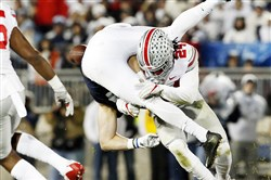 Ohio State's Malik Hooker, a New Castle grad, is one of the top defensive backs in the country who is projected to go in the top 10 of the NFL draft.