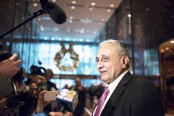 Carl Paladino, at Trump Tower, Dec. 5