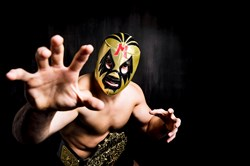 "barebones productions brings pro wrestling to the Ace Hotel in East Liberty with ""The Elaborate Entrance of Chad Deity,"" Jan. 26-Feb. 4."