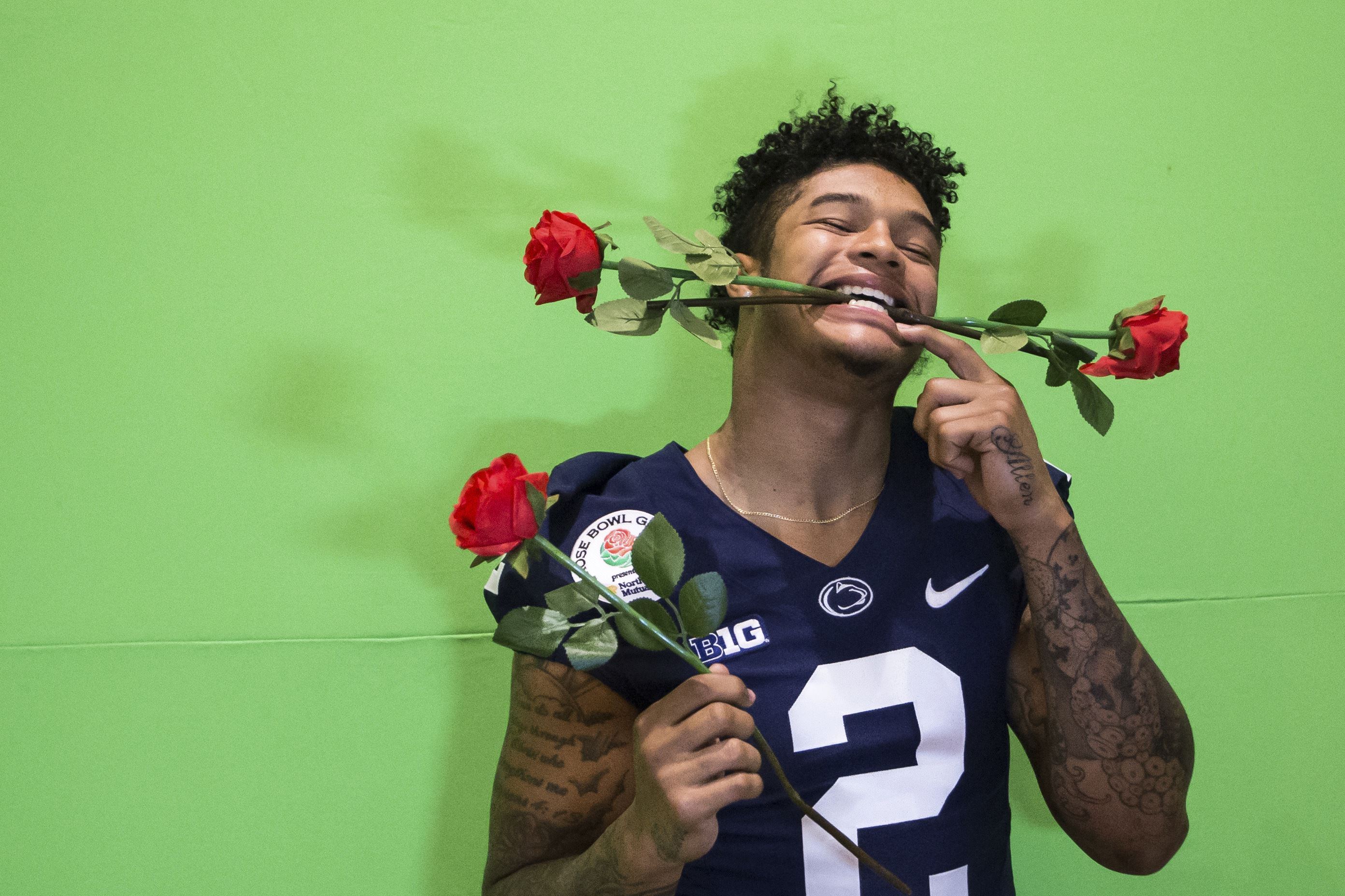 Penn State aims to contain USC's Jackson in Rose Bowl