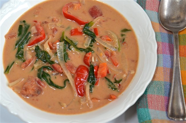 West African Peanut Soup.