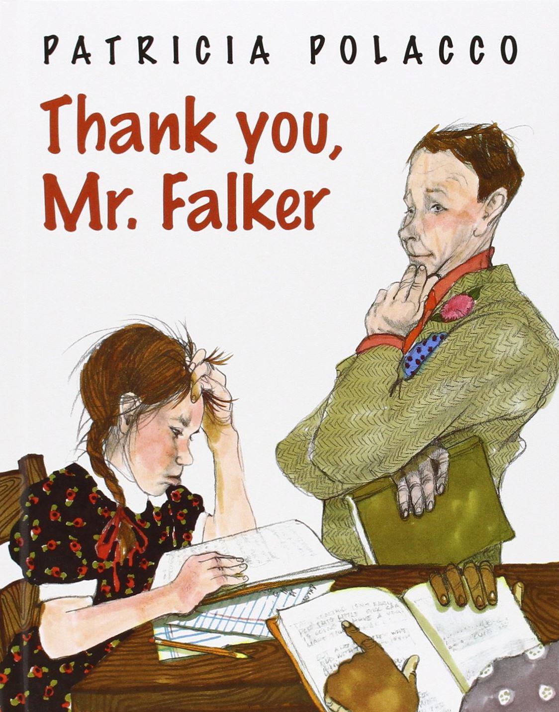 thank you mr falker book pdf