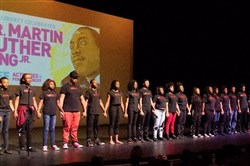 The Kelly-Strayhorn Theater partners with other organizations for a day of activities and performances in the eighth annual East Liberty celebration of Martin Luther King Day on Jan. 16, 2017.
