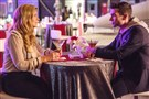 "Connie Britton, left, as Rayna and Cameron Scoggins as Silicon Valley tech billionaire Zach on ""Nashville."""