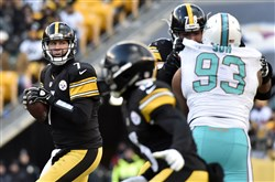 The Steelers can't afford quarterback Ben Roethlisberger to just be average in the AFC championship game Sunday against Tom Brady and the New England Patriots.