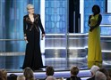 Meryl Streep accepts the Cecil B. DeMille Award at the 74th Annual Golden Globe Awards in Beverly Hills, Calif., Sunday night.