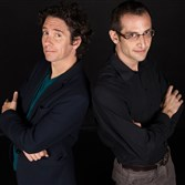 Magicians Francis Menotti and David London appear at Pittsburgh Playwrights, Downtown.