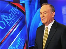 "Bill O'Reilly, host of Fox News' ""The O'Reilly Factor"" at Fox Studios in New York City."