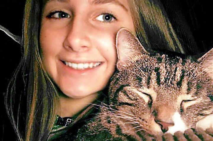 hannah milbert Hannah Milbert, 15, is pictured with her cat, Ninja.