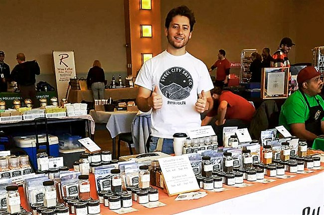 John Tarallo, owner of Steel City Salt Co.