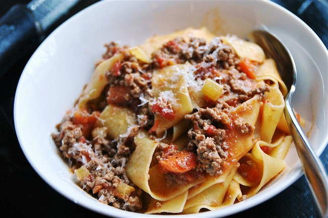 Pasta With Bolognese is an ideal winter comfort dish.