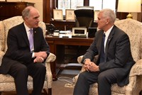 Today, U.S. Senator Bob Casey (D-PA) met with Vice President-elect Mike Pence.