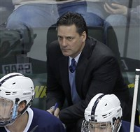 Penn State coach Guy Gadowsky has led the Nittany Lions to their first No. 1 national ranking.