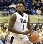 Former Pitt standoutJamel Artis moves the ball during a game at the Petersen Events Center in December 2016. He reached a two-way contract with the Orlando Magic, his father confirmed.