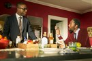 "From left, Sterling K. Brown as Randall and Ron Cephas Jones as William in ""This Is Us."""