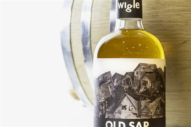 Old Sap, a whiskey developed in a collaboration between Wigle Whiskey and Four Seasons Brewery in Latrobe.