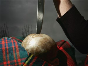 The Haggis was made famous in literature of Scottish poet Robert Burns and is one of Scotlands most celebrated products.