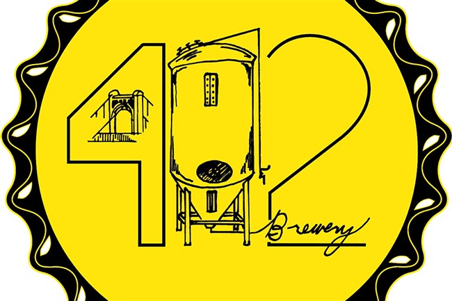 Logo for the new 412 Brewery in McKees Rocks.