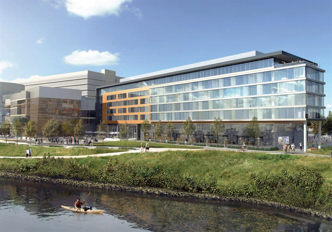 Based On Renderings The Hotel Would Be Attached To Rivers Among Its