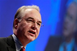 Tom Price, President-elect Donald Trump's nominee for secretary of health and human services