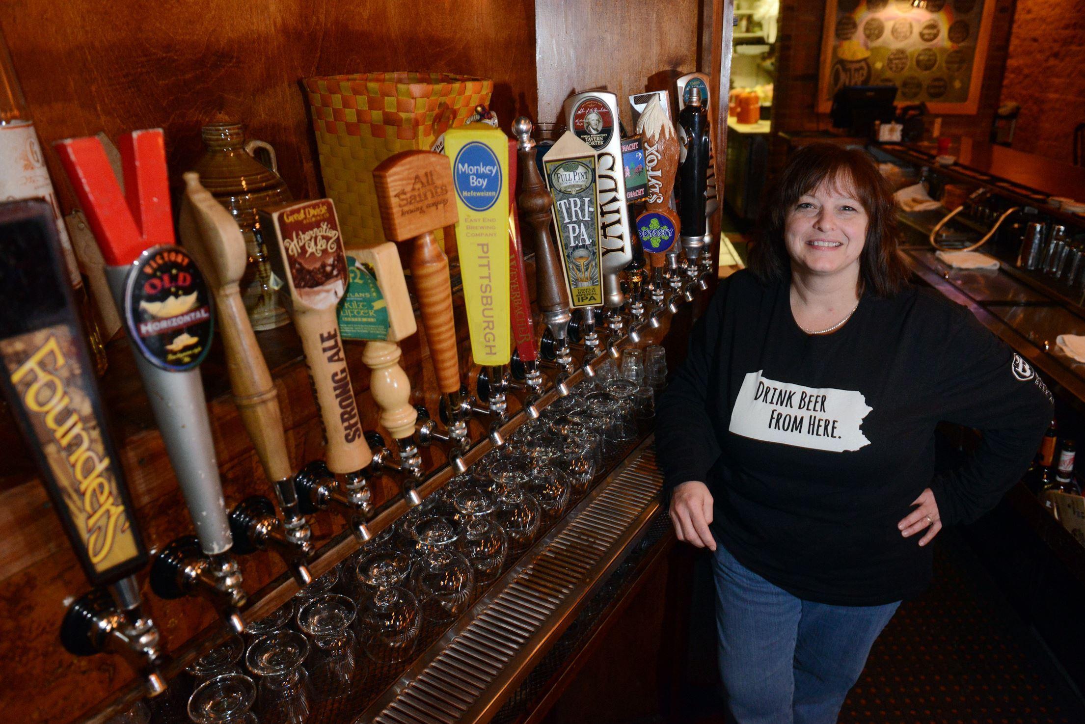 20140226MWHdillaBusiness01.jpg Bocktown Beer & Grill owner Chris Dilla.