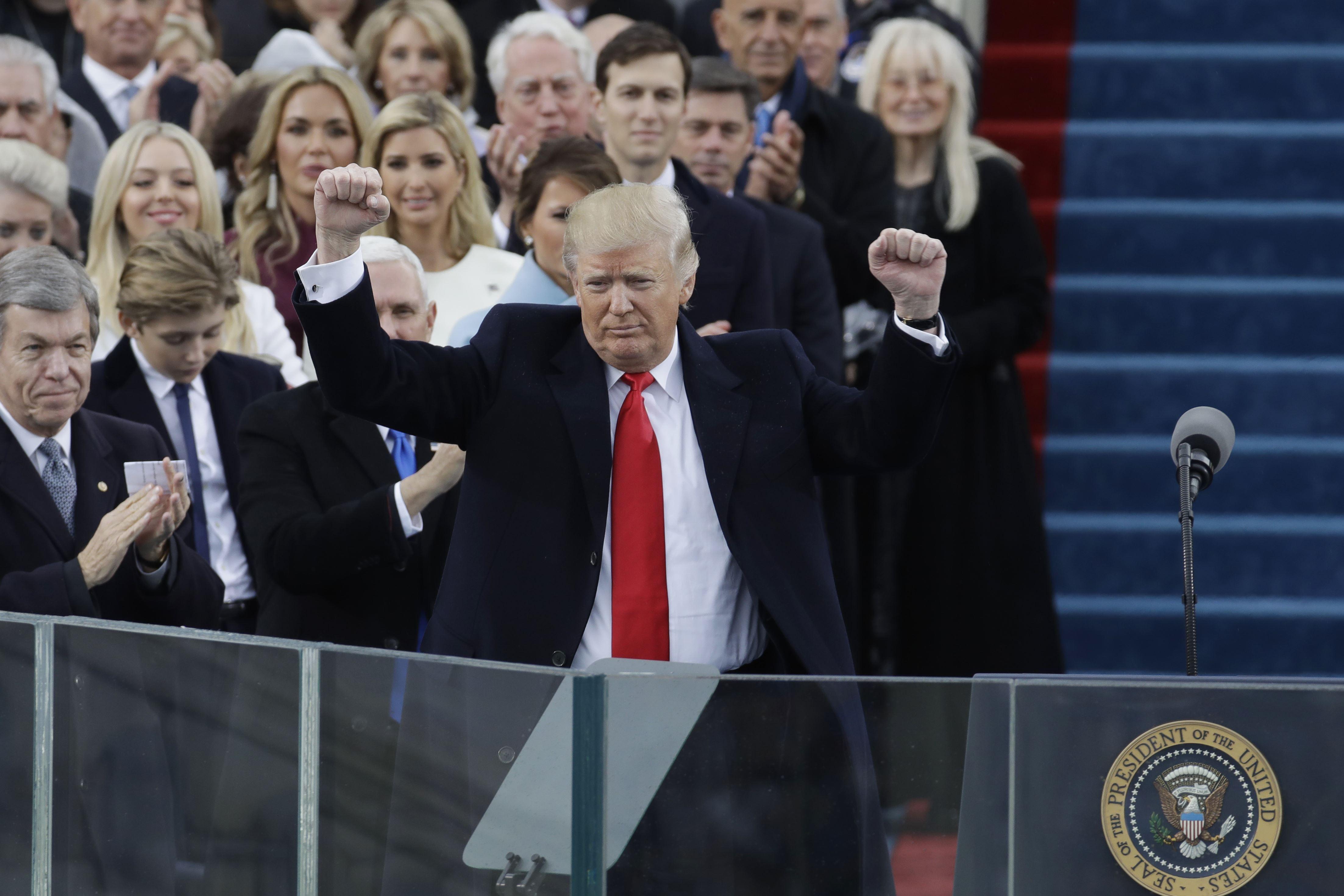 photos presidential inauguration donald trump