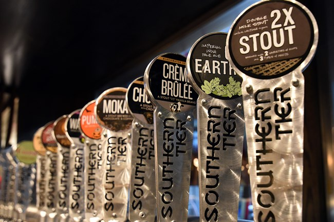 Southern Tier manufactures about 30 different types of beer. It will be open for dinner only, from 4 to 10 p.m. today through Thursday, then shift to its normal 11 a.m. to midnight hours on Friday.