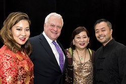 Julienne Shaw, left, Mike Pintek, Chiapih Shaw and Kai Lin.