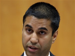 Ajit Pai, a former Verizon lawyer, is a fierce and vocal critic of internet regulation, including the 2015 net neutrality rules.