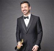 Jimmy Kimmel will host the 89th Oscars ceremony live on ABC on Feb. 26.