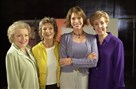 From left, Betty White, Cloris Leachman, Mary Tyler Moore and Georgia Engel in a 2002 photo.