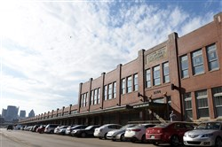 The produce terminal building where millions of dollars in street improvements are planned in the Strip District on Jan 25, 2017. ()