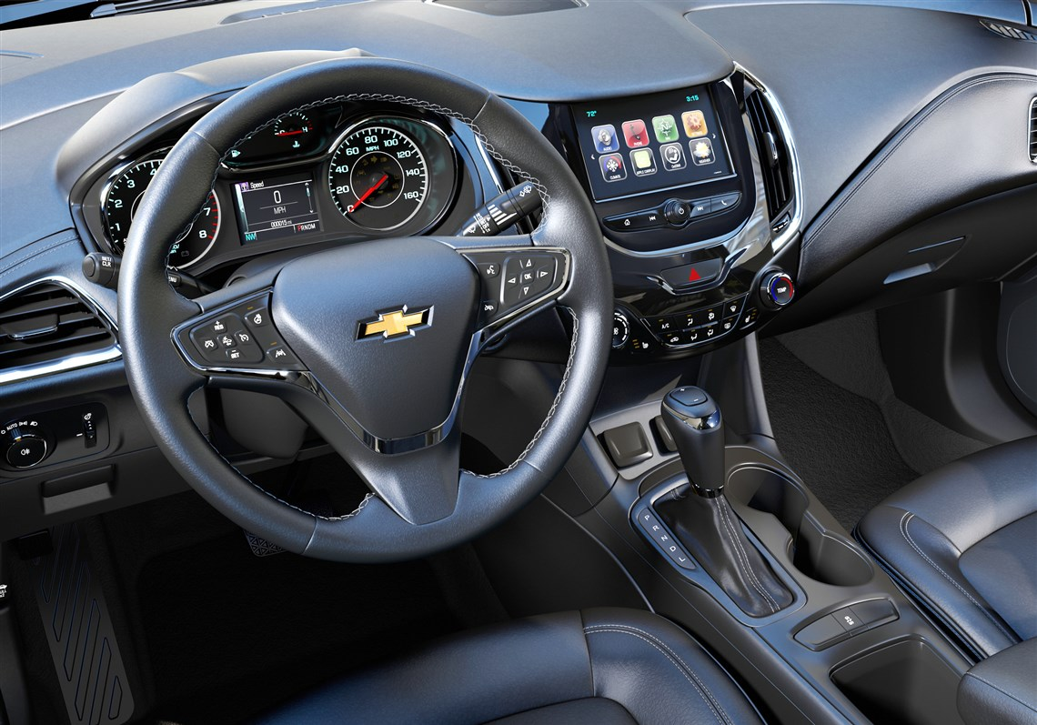 Scott sturgis drivers seat chevy cruze hatchback is pretty if interior the inside of the 2017 chevrolet cruze hatch is as handsome as most gm publicscrutiny Gallery