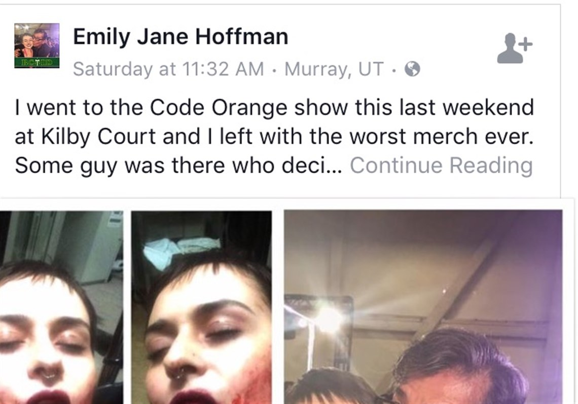 Woman suffers shattered jaw in Code Orange moshpit | Pittsburgh Post ...