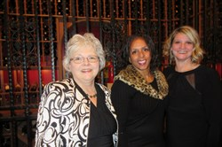 Kathy Kanotz, left, Joyce Ellis and Christina Oravetz.