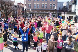 "The Mon Valley Regional Chamber in partnership with TEAM Charleroi will lead the region in a ""Hoodie Hoo"" shout on Monday at Magic City Square in Charleroi. A unified shout repeating the words ""Hoodie Hoo"" three times with arms outstretched to the sky is all a willing participant has to do at high noon."