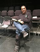 Mark Clayton Southers at Pittsburgh CAPA's Black Box Theater.