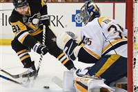 Nashville goalie Pekka Rinne is one of the best in the NHL.
