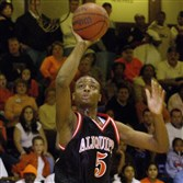 Herb Pope takes a shot for Aliquippa in 2005.